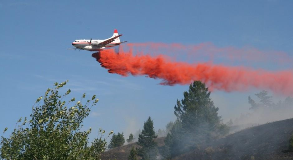 45 over Hamilton Hill wildfire-July 17th