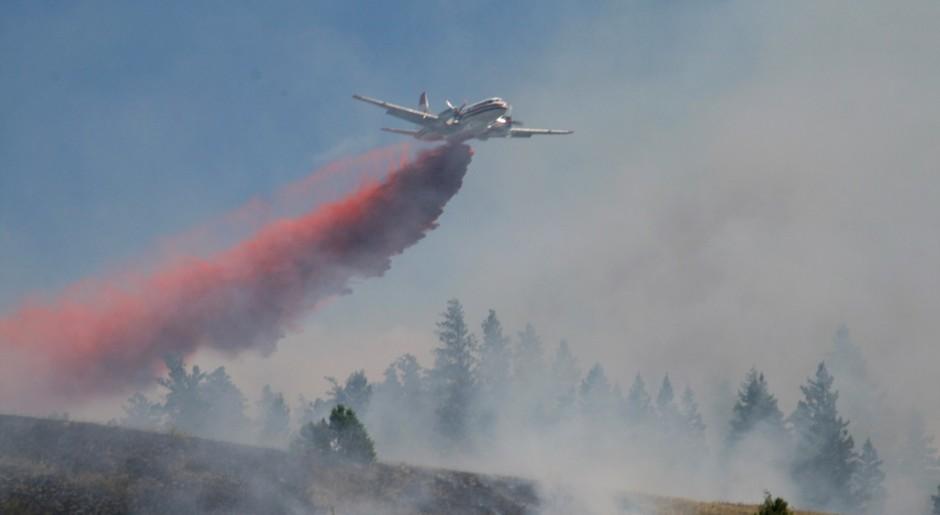 45 over Merritt-Hamilton Hill wildfire- BRIGHTER