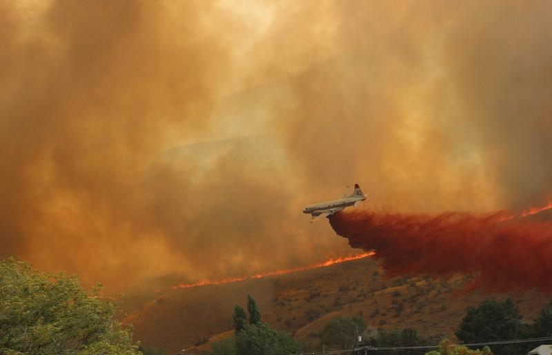 Chelan WA wildfire CV 42