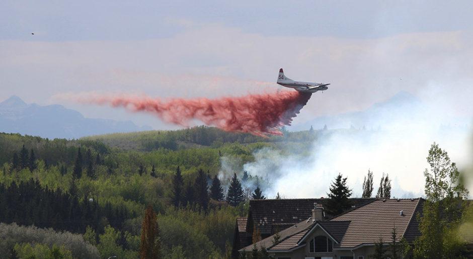 Cochrane AB Mike Reece wildfire 2018