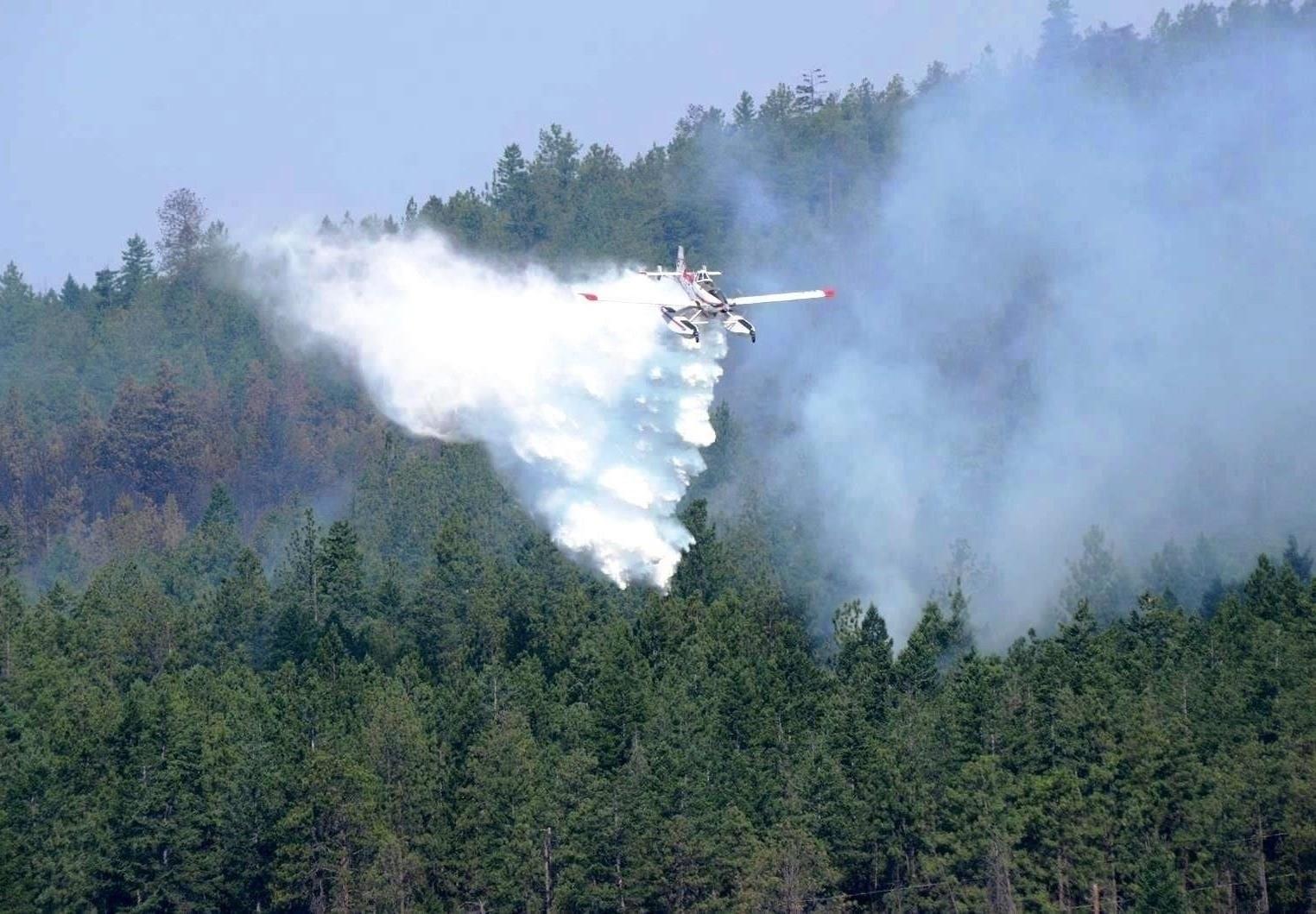 July 2014 Smith Creek wildfire in Kelowna BC