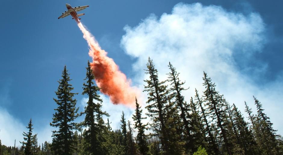 June 18th RJ over Brian Head fire in Utah