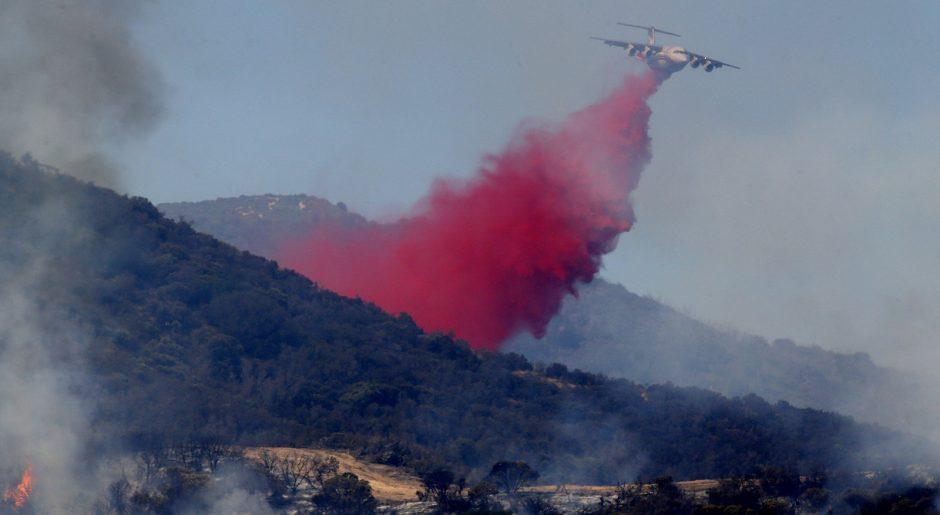Pilot Fire California August 2016