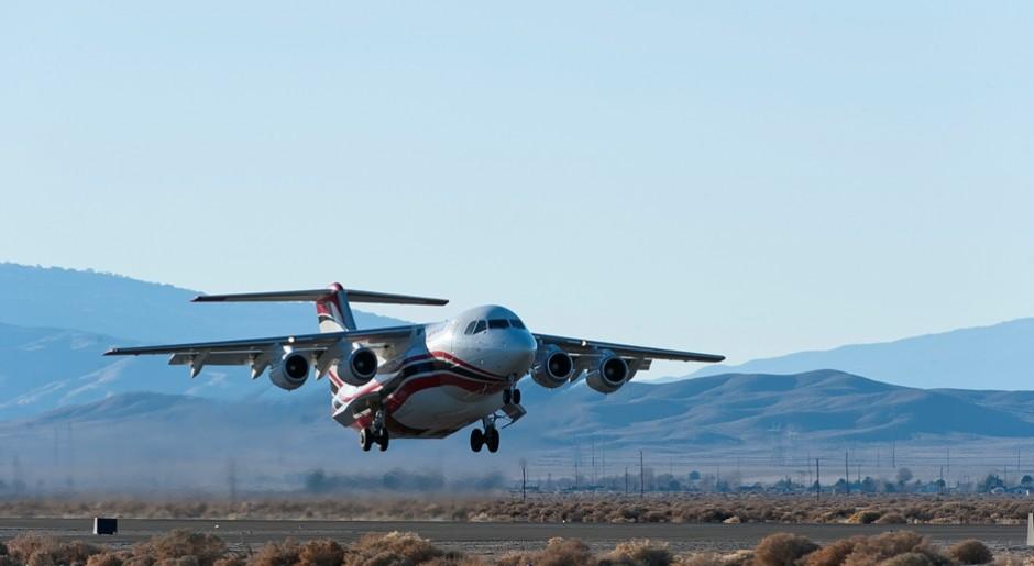 RJ on take off